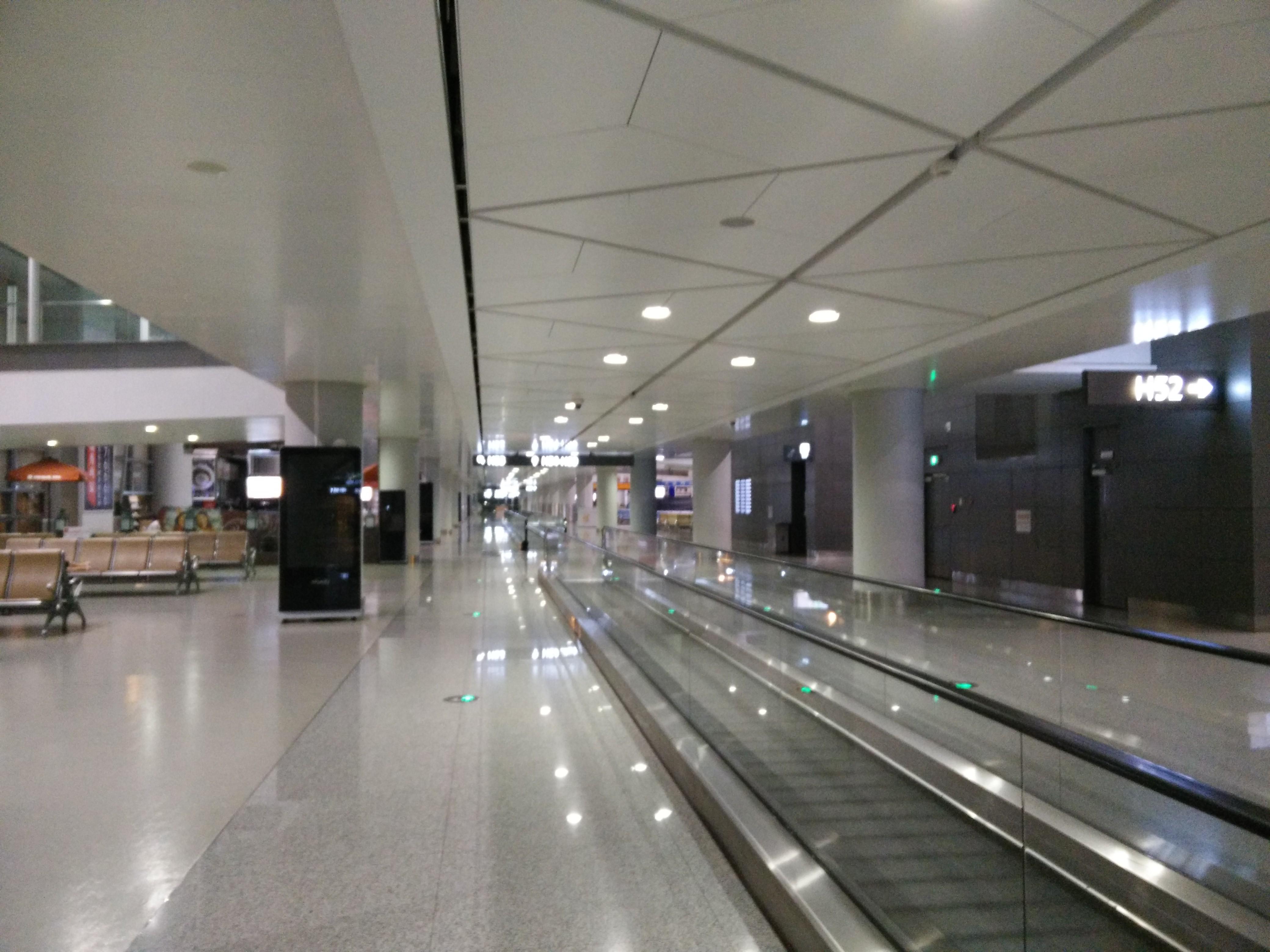 Xi'an Xianyang International Airport (XIY) departure hall